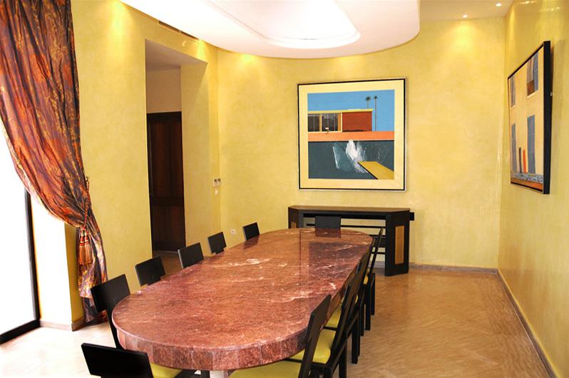 Vente villa prestige marrakech l oasis bab atlas for Salle a manger atlas