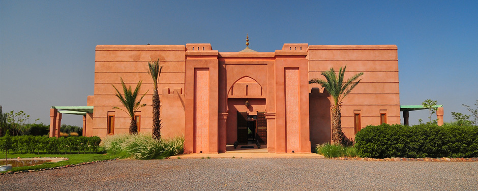 Main facade - Oasis Bab Atlas Marrakech