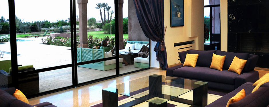 European style living room - Oasis Bab Atlas Marrakech