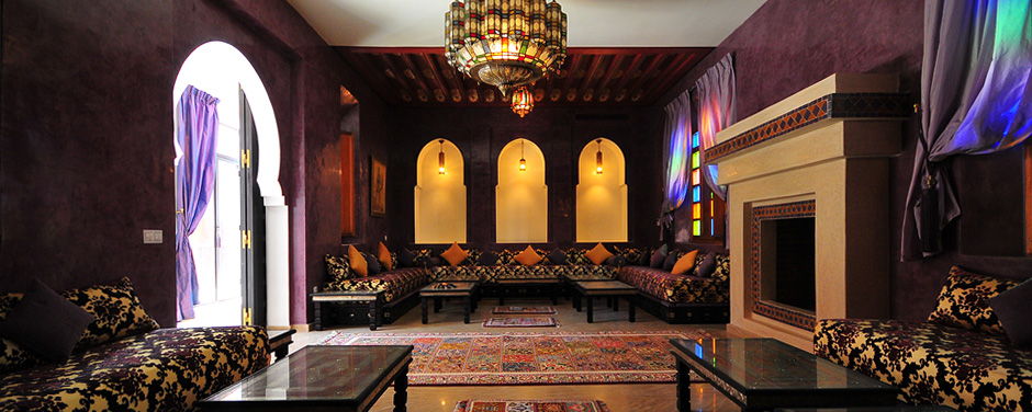 Moroccan style living room - Oasis Bab Atlas Marrakech