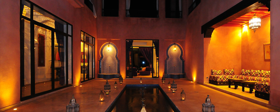 Interior patio - Oasis Bab Atlas Marrakech