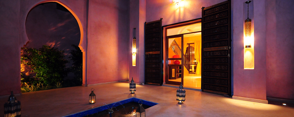 Patio d'entrée - Oasis Bab Atlas Marrakech